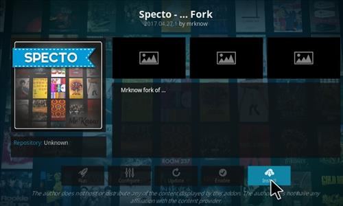How To Install Specto Fork Add-on Kodi 17 Krypton 19